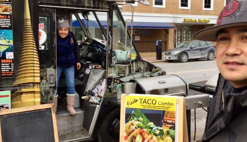 Thai taco food truck