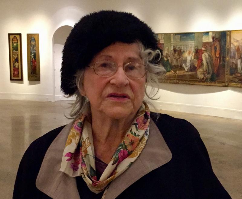 Art teacher extols painter Oakley at Woodmere Museum