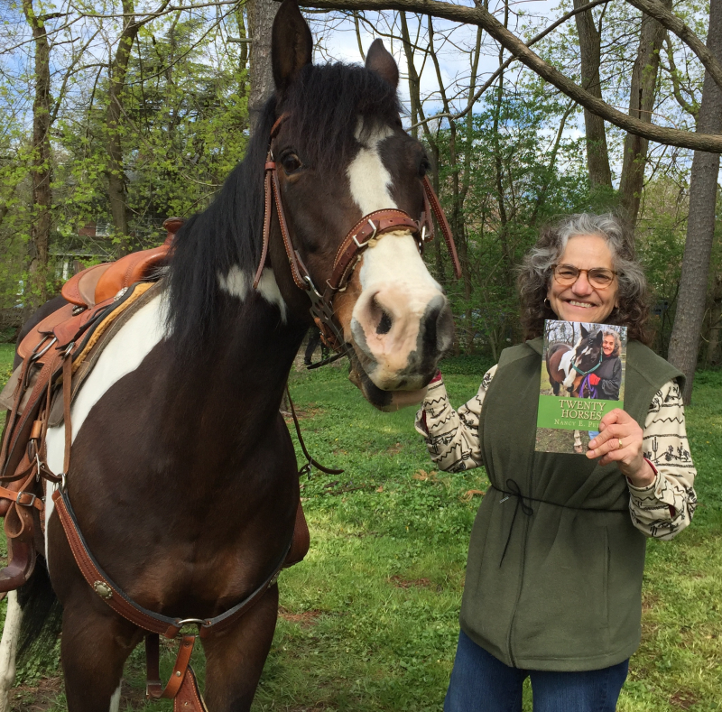 Horseback riding horse book author