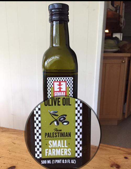 Palestinian farmer olive oil