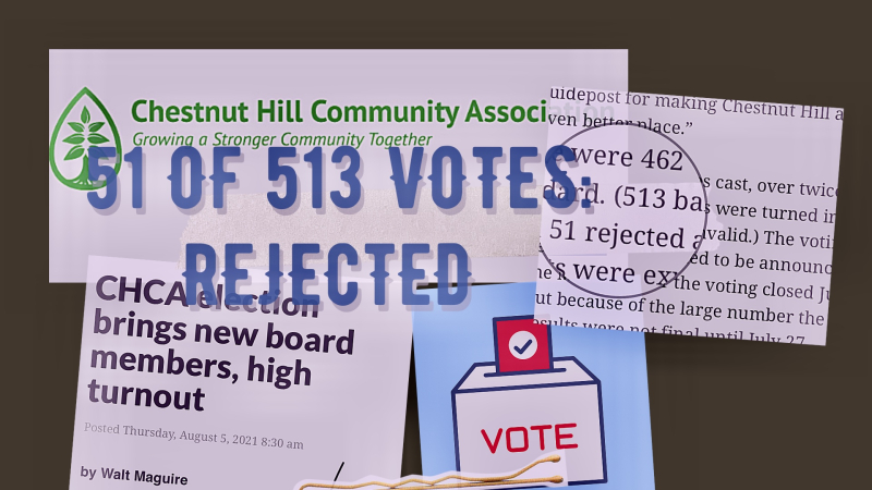 CHCA election 51 ballots rejected
